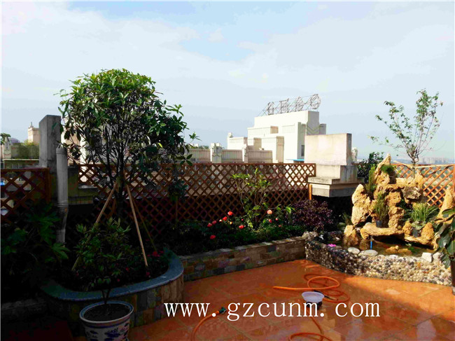 天台楼顶花园装修设计效果图