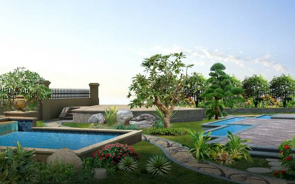 别墅花园设计