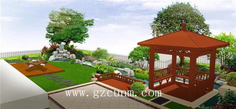 私家花园设计效果图