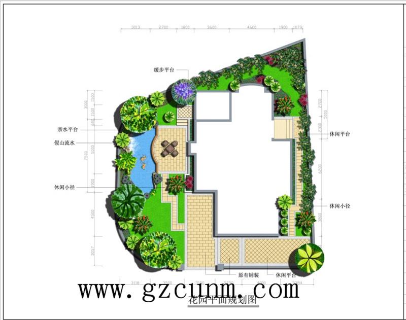 碧桂园别墅花园规划