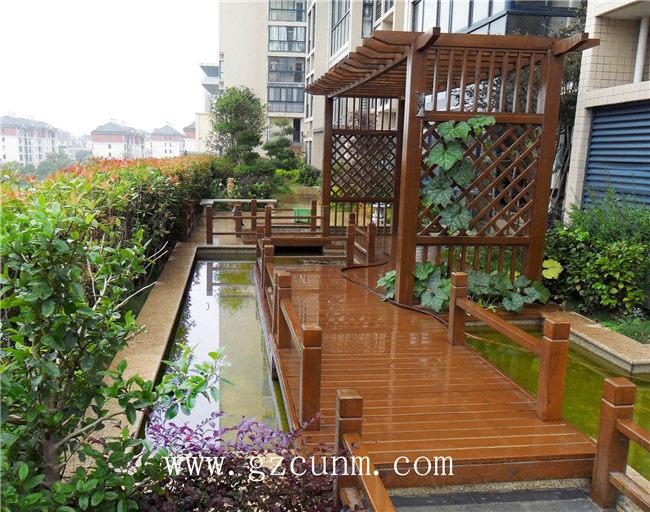 屋顶花园设计实景 - 广州春木园林公司