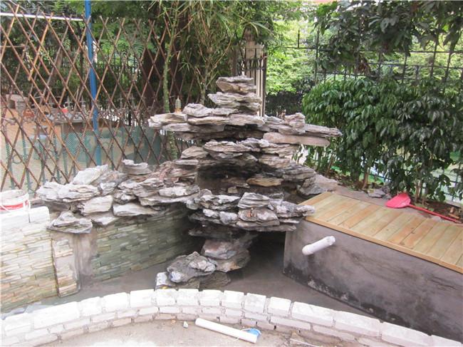 别墅鱼池过滤系统设计图图片