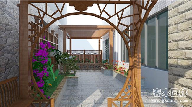 家庭庭院景观设计案例